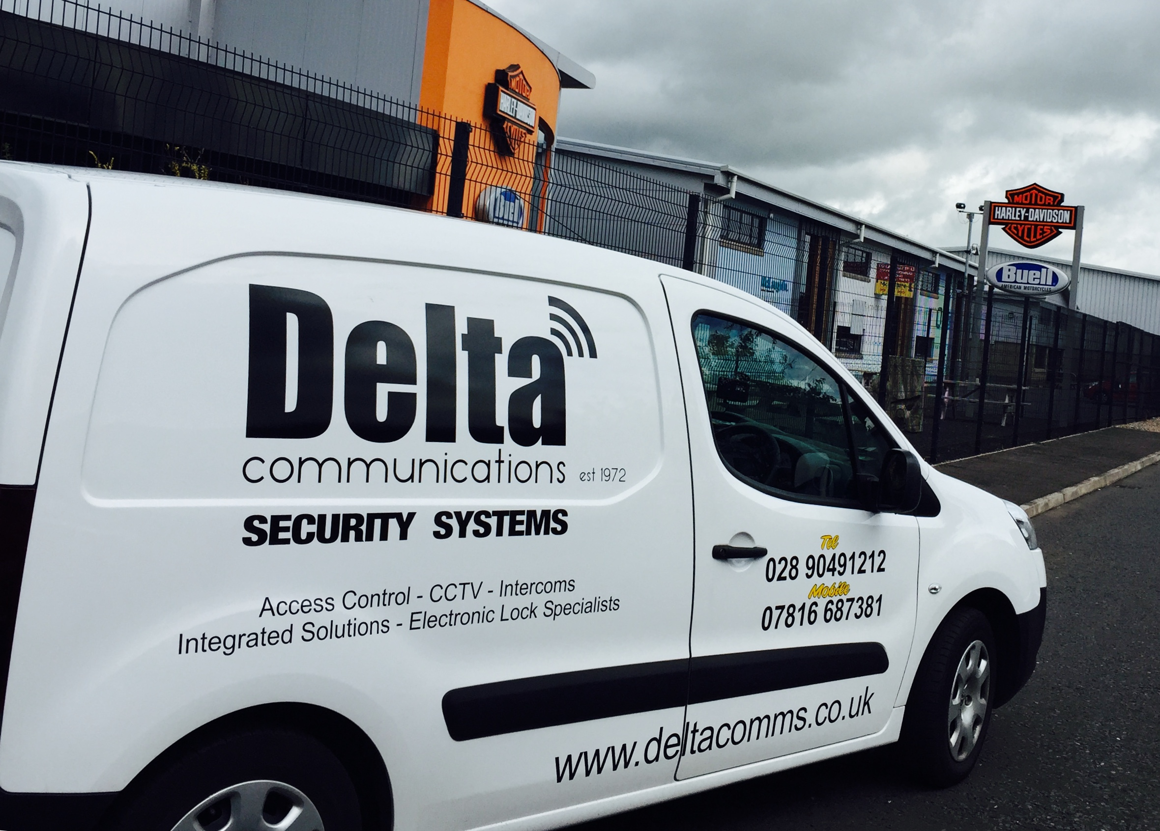 Delta 45 years in business delta communications security for Look security systems